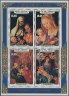 Aitutaki: 1986, Christmas Miniature Sheet With Different Dürer Paintings (St. Anne With Virgin And C - Aitutaki
