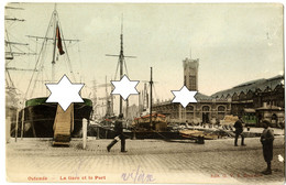 La Gare Et Le Port (Station - Horloge) Oostende - Ostende (DOOS 8) - Oostende