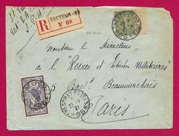 """Enveloppe Datée De 1921 - Armée Française Du Rhin - Oblitération """"Trésor Et Postes - Secteur Postal 96"""" - Französische Zone"""