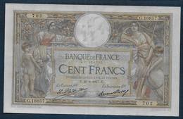 100 Francs  L.O. Merson  Du  26 - 8 - 1927 - 100 F 1908-1939 ''Luc Olivier Merson''