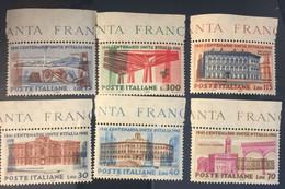 1961 - Centenario Unità D'Italia. Serie Completa - 1961-70:  Nuovi