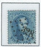 COB 15A  Médaillons Dentelés -  Bureau De Poste De :   L 328  ST NICOLAS - 1863-1864 Médaillons (13/16)