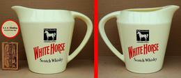 1 Pichet à WHISKY WHITE HORSE (marché Allemand) - Jugs