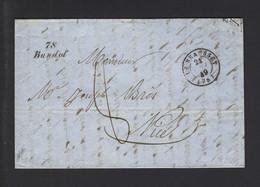 VAR CURSIVE BANDOL CAD LE BEAUSSET 24 Septembre 1849 - 1849-1876: Klassieke Periode