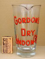 1 Ancien VERRE à Mélange Pour Cocktail GORDON'S DRY LONDON GIN - Jugs