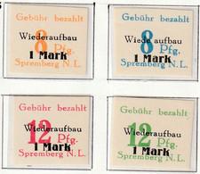 Deutsche Lokalausgaben - SPREMBERG - N°17/8 ** (1946) NON DENTELE - Ohne Zuordnung