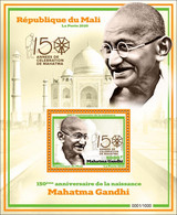MALI 2020 - SOUVENIR SHEET BF BLOC BLOCK - JOINT ISSUE - MAHATMA GANDHI 150 TH BIRTH ANNIVERSARY - RARE MNH - Mahatma Gandhi