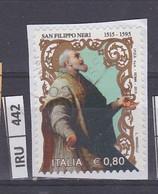 ITALIA REPUBBLICA   2015San Filippo Neri Usato - Unclassified