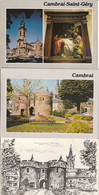 Un Lot De 10 Cartes Postales De CAMBRAI - Cambrai