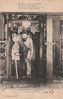 Le Poète-Mineur Jules Mousseron - Ala Remonte De La Mine  -- Photo Lambert, Denain  -  ( En L' état) - Denain