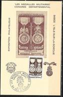 FRANCE Congres Médaillés Militaires 18/9/76  ISLE Sur La SORGUE ( Timbre Yvert 927 ) - 1970-79