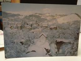 Cartolina S.Pietro D'Olba Prov Savona  Paesaggio Invernale - Savona