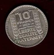 10 Francs Turin 1929 - K. 10 Francs