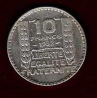 10 Francs Turin 1932 - K. 10 Francs