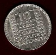 10 Francs Turin 1939 - K. 10 Francs