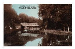 CPA - VOID - Canal Et Pont Du Chemin De Fer - Altri Comuni