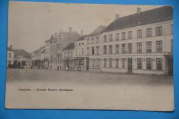 Iseghem 1904: Groote Markt (Oostkant) - Izegem
