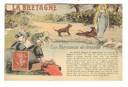 G769 - Jolie Illustration - LA BRETAGNE - Les Aboyeuses De Josselin - Bretagne
