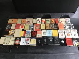 Degrelle Léon - Lot Exceptionnel De 53 Livres écrits (dédicaces, Note , Illustrations Hergé - Paquete De Libros