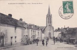 [44] Loire Atlantique Saint Mars Du Désert Route De Nort PLAN  RECHERCHER - Altri Comuni
