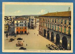 PORTO CIVITANOVA PALAZZA MUNICIPALE VG. 1952 MACERATA N°B038 - Otras Ciudades