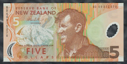 New Zealand - 5 Dollars 2009 - Pick 185b - New Zealand