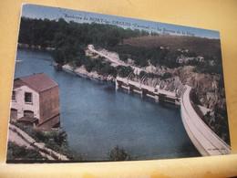 19 6354 CPA COLORISEE 1935 - 18 ENVIRONS DE BORT LES ORGUES. LE BARRAGE DE LA DIEGE - Other Municipalities