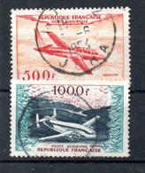 O1-1  France Oblitéré PA N° 32 + 33 à 10 % De La Côte. A Saisir !!! - 1927-1959 Used