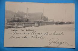 Iseghem 1910: Vaart (Zuidkant) - Izegem