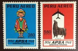 Peru 1968 APSA Airlines Animals MNH - Peru