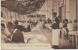 CAP FERRET -GIRONDE - LE RESTAURANT BELISAIRE  -ANNEE 1920 - Autres Communes