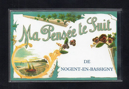 52-CARTE POSTALE - NOGENT EN BASSIGNY - Nogent-en-Bassigny