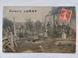 LASSY 35 Ille Et Vilaine SCIERIE LERAY Carte PHOTO Postale Ancienne CPA Animee - Sonstige Gemeinden