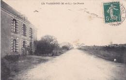 [49] Maine Et Loire La Varenne La Poste PLAN RECHERCHER RARE - Otros Municipios