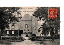 Environs De La Ferté-Alais.  Bouville.  Le Château De Farcheville.  Vélo... ETAT NEUF. Voir SCANS Recto-verso - Other Municipalities
