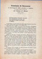 COMUNE DI ALTIVOLE-(TREVISO)-7-GIUGNO-23 LUGLIO-31 AGO1891-DOCUMENTO ORIGINALE-BUFERE E GRANDINI....EVENTO NEFASTO! - Treviso