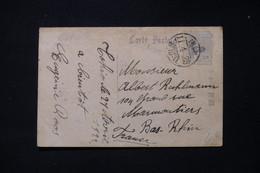 JAPON - Affranchissement De Tokyo En 1922 Sur Carte Postale De Kyoto Pour La France - L 87311 - Briefe U. Dokumente