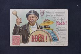 LUXEMBOURG - Affranchissement De Echternach Sur Carte Postale En 1906 Pour La France - L 87312 - 1895 Adolphe Profil