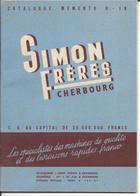 50 - Manche - Cherbourg - Machine Agricole  - Ets Simon Frères - Werbung
