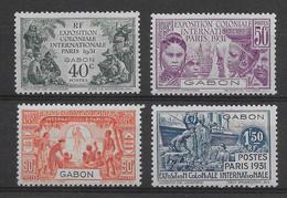 Gabon N°121/124 - Neuf ** Sans Charnière - TB - Nuevos