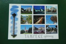 I 8/   TAMPERE TAMMERFORS SIGHTSEEINGI    SUOMI FINLANDE EUROPE - Finland