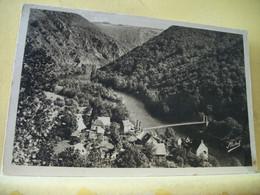 19 6396 CPSM PM 1950 - AUTRE VUE DIFFERENTE N° 5 - 19 GORGES DE LA DORDOGNE. NAUZENAC. VUE GENERALE. LE PONT - Other Municipalities
