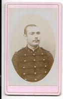 PHILIPPEVILLE-Photo Début 20° CDV Portrait Militaire Du 11e Régiment...  (E. MADAULE Philippeville) - Guerra, Militari