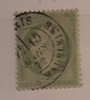 N° 20 Napoléon 50 Vert - 1862 Napoléon III
