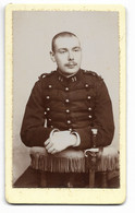 PHILIPPEVILLE-Photo Début 20° CDV Portrait Militaire Du 11e Régiment...  (Pierre PIO Philippeville) - Guerra, Militari