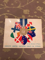 United Nations Peace Keeping Force In Cyprus Christmas Card 1968 - Andere