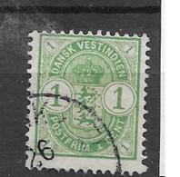 1900 USED Dänisch-West Indien, Facit 19 - Dänemark (Antillen)