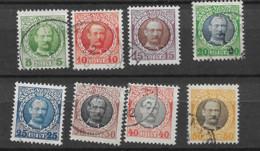 1907 USED Dänisch-West Indien, Facit 41-48 - Dänemark (Antillen)