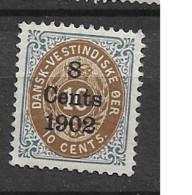 1902 MH Dänisch-West Indien, Facit 26 - Danemark (Antilles)