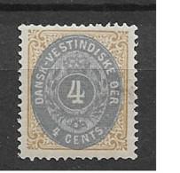1873 MH Dänisch-West Indien, Facit 7 - Danemark (Antilles)